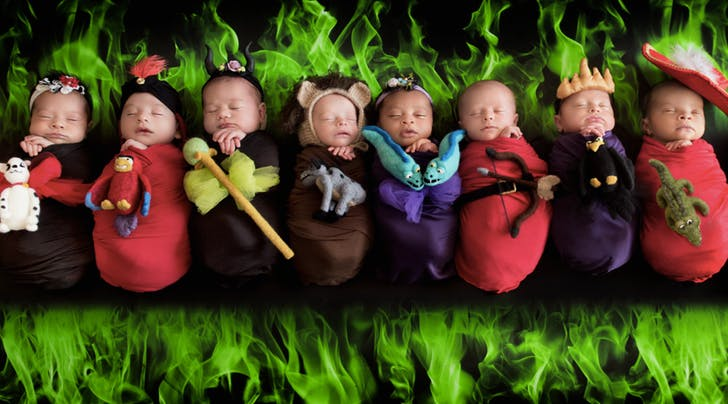 These Babies Dressed in Disney Villain Costumes Are Wicked Cute