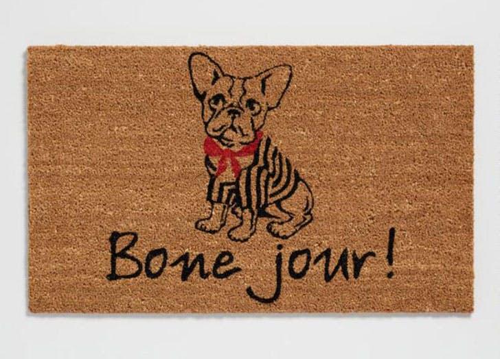 dog gift guide doormat