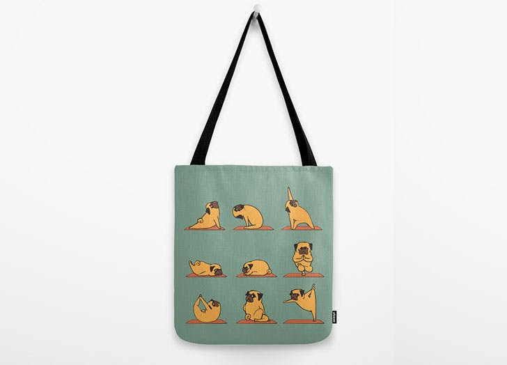 dog gift guide yoga tote1