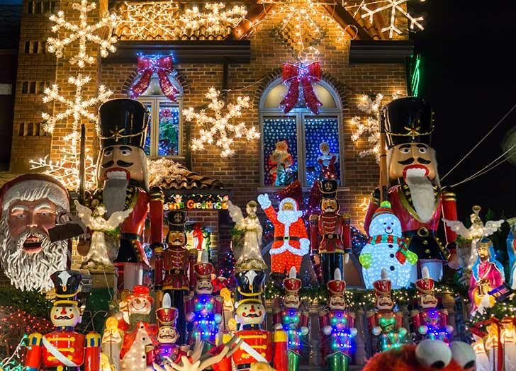 dyker heights christmas lights NY