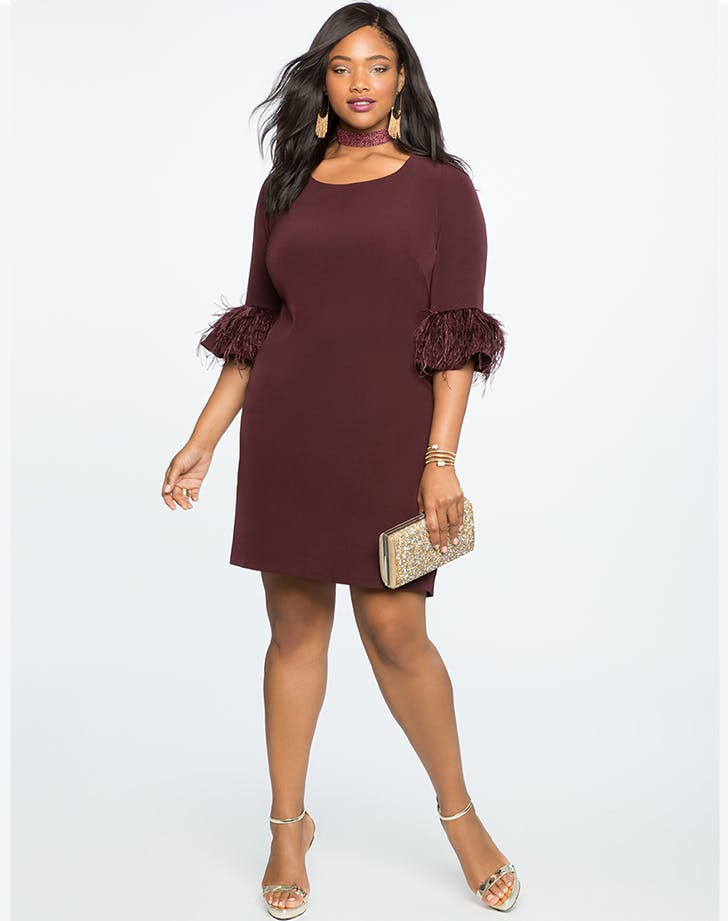 eloquii plus size holiday dresses