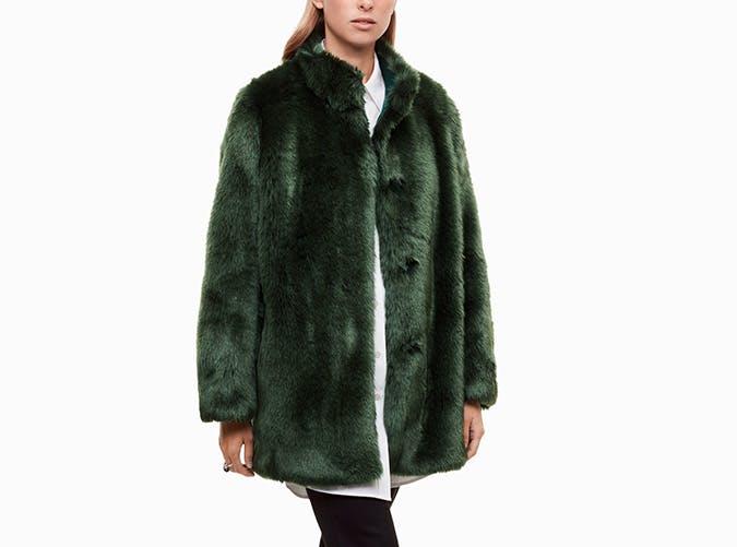 faux fur aritzia