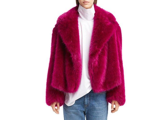 faux fur dries
