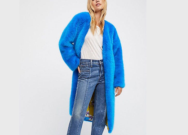 faux fur free people