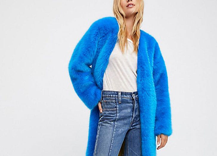The 30 Best Faux-Fur Coats for Winter