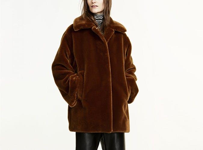 faux fur marimekko