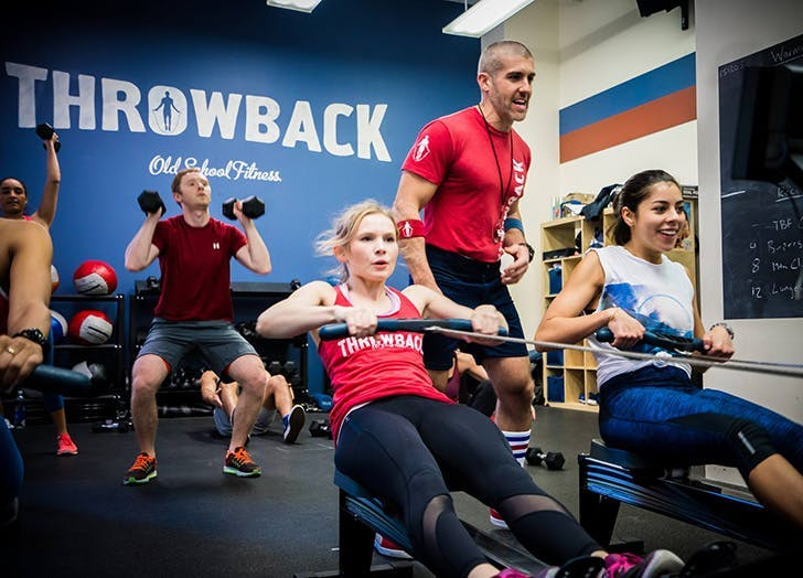 fitness trends team classes