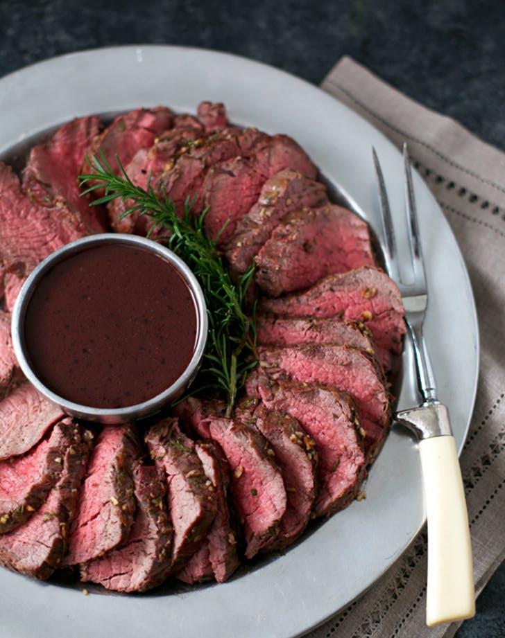 garlic rosemary beef tenderloin