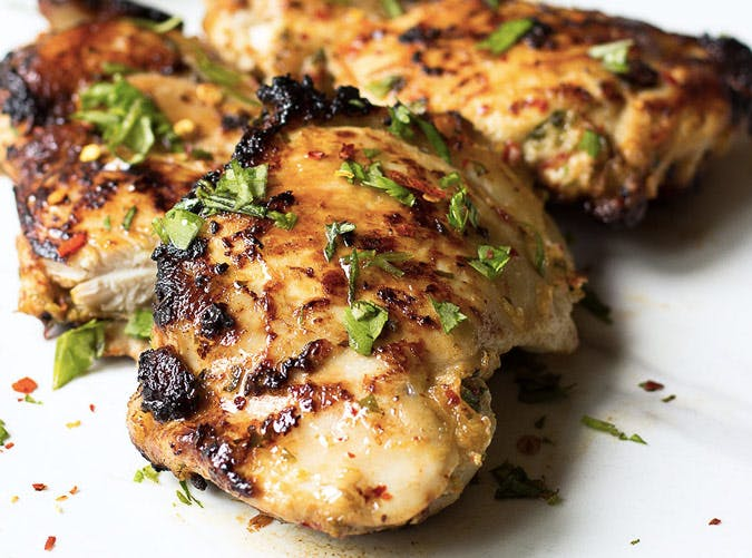 ginger chili lime chicken thighs recipe
