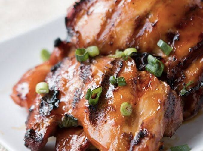 grilled hawaiian chicken thighs recipe