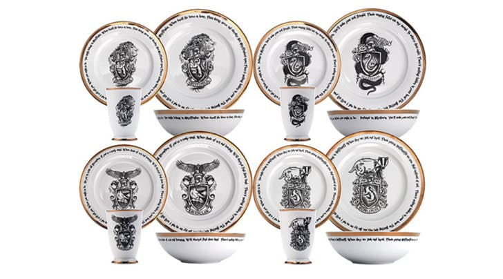 Were Obsessed with This Magical New Harry Potter Dishware