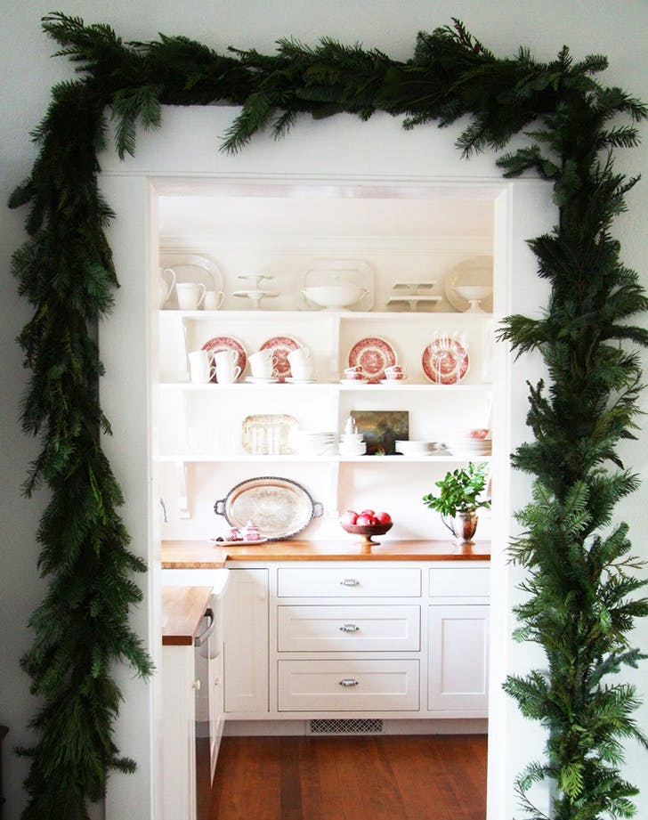 holiday decor trend greenery 728