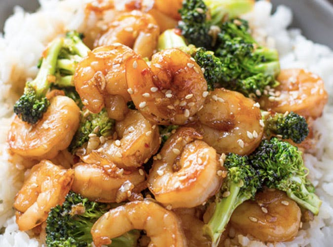 honey garlic shrimp recipe 501