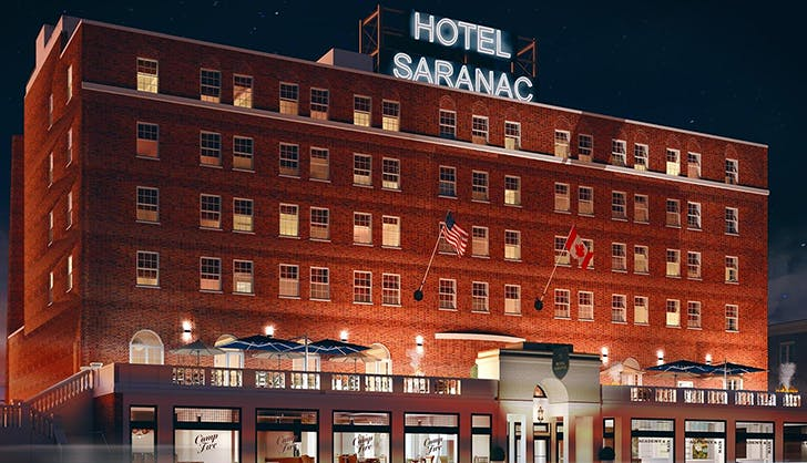 hotel saranac new york cyber monday sale