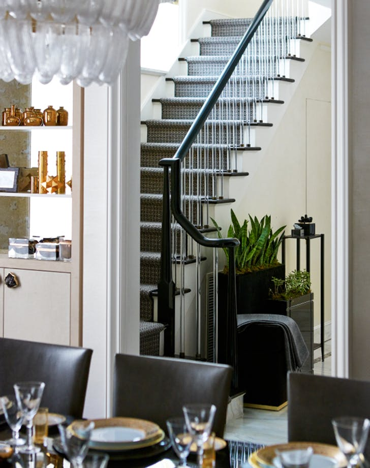 how to decortae staircase plants