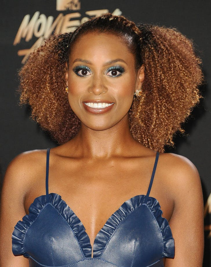 how to wear metallic makeup issa rae
