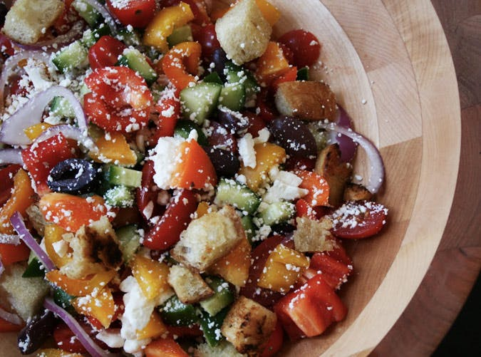 ina garten greek panzanella lunch recipe 501