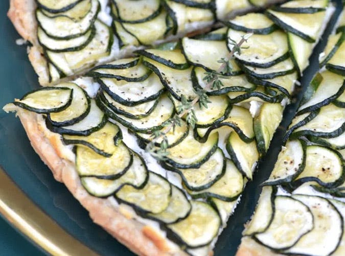 The 19 best ina garten lunch recipes purewow Ina garten goat cheese tart