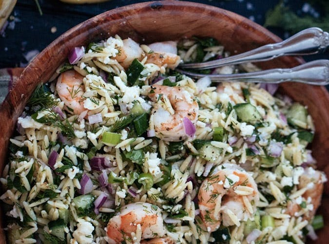 ina garten roasted shrimp orzo salad lunch recipe 501