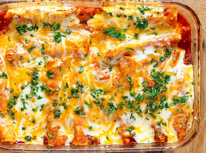instant pot chicken enchilada