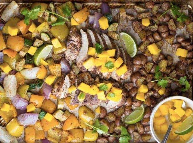 jamaican sheet pan chicken recipe 501