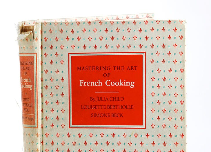 julia child mastering the art of french cooking 524
