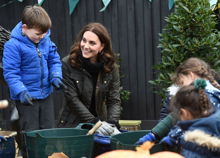 Kate Middleton Has Serious Gardening Skills (and Shes Sharing Her Green Thumb with George and Charlotte, Too)