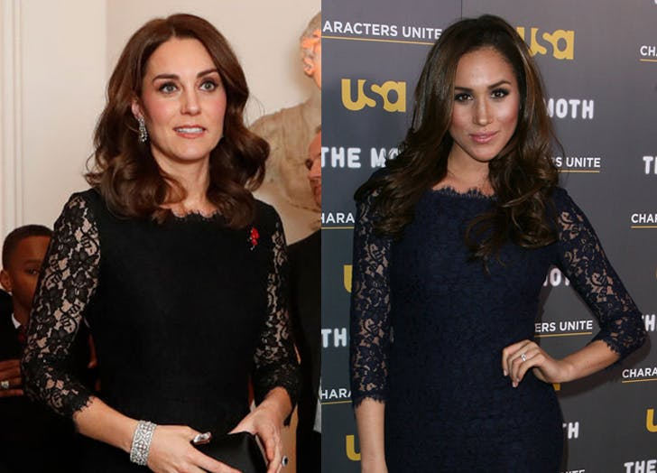 Kate Middleton Just Stepped Out in the Exact Same Outfit Meghan Markle Wore in 2012