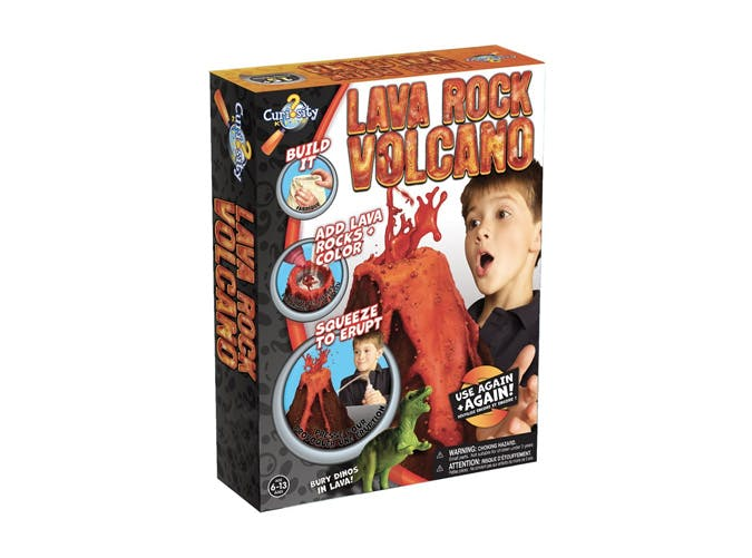 lava rock volcano kit kids gifts