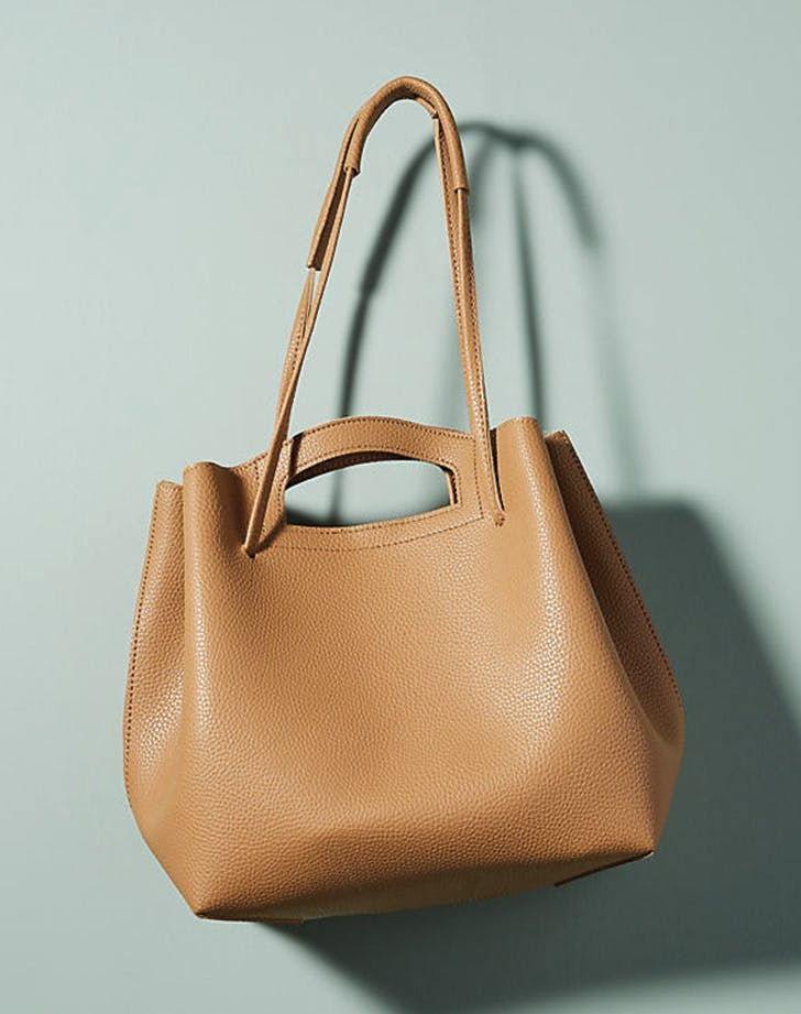 leather tote anthropologie
