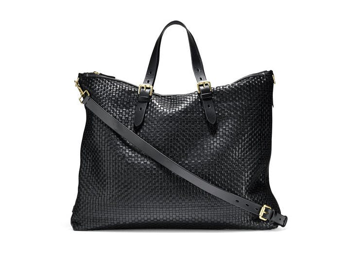 leather tote cole haan