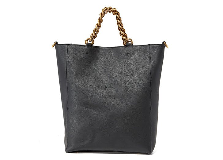 leather tote deux luc