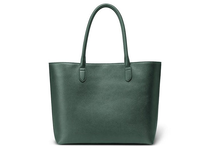leather tote linjer