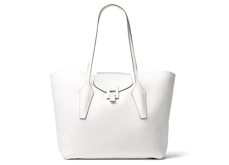 leather tote michael kors