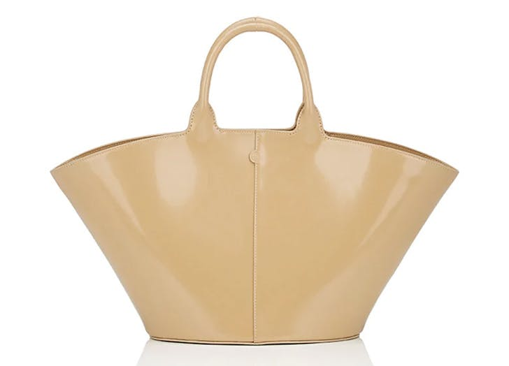 leather tote the row
