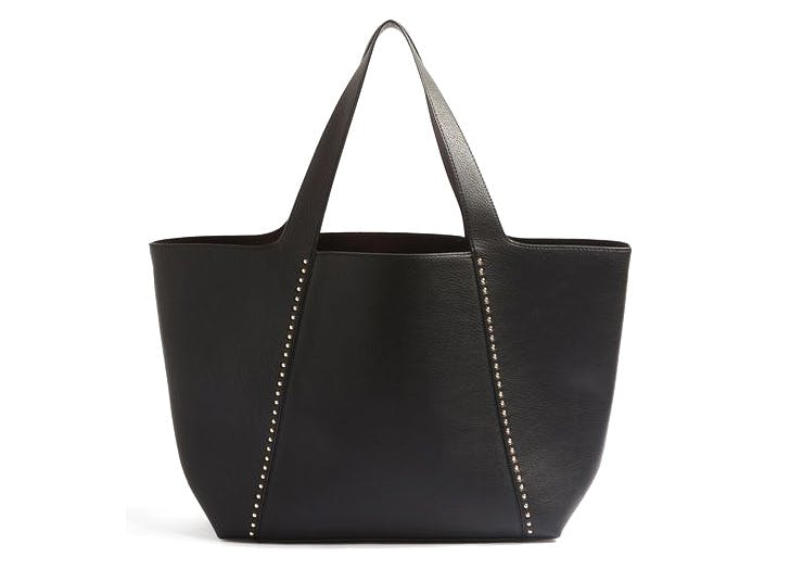 leather tote topshop