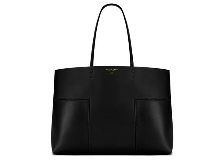 leather tote tory