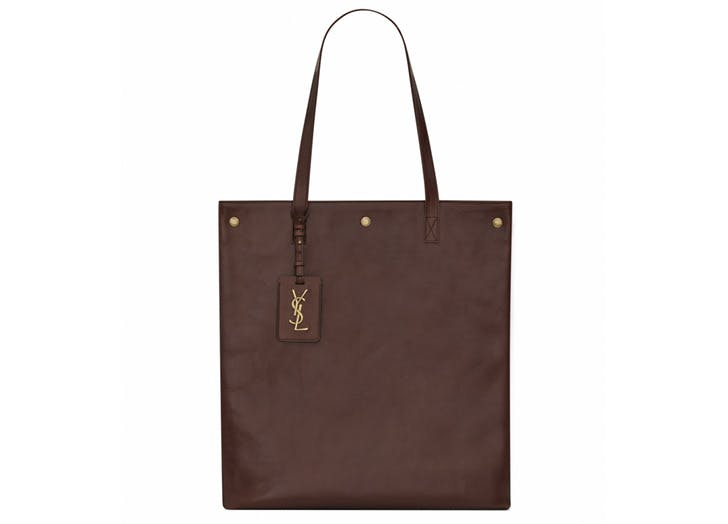 leather tote ysl
