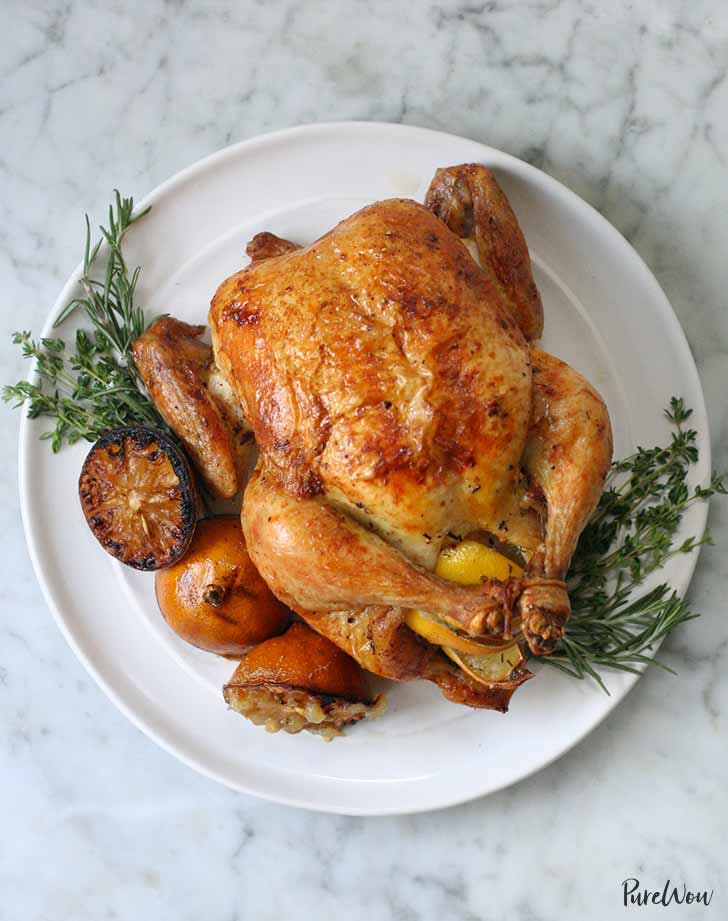 lemon herb roast chicken 921