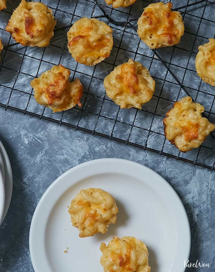 mac and cheese bites holiday appetizer recipe