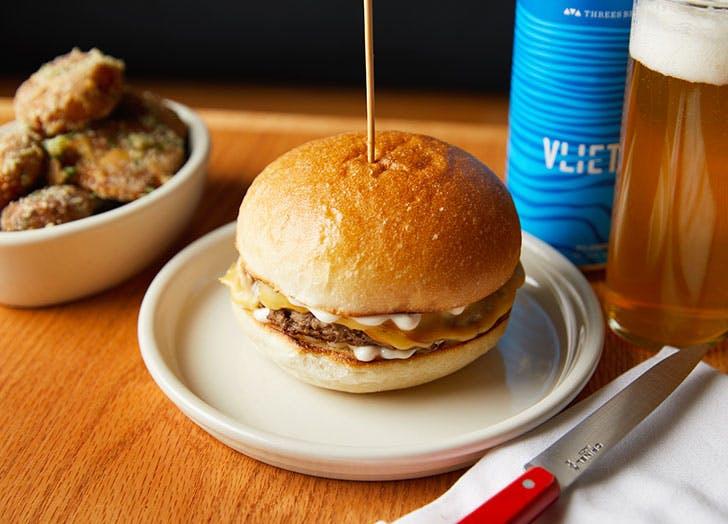 momofuku nishi veggie burger NY