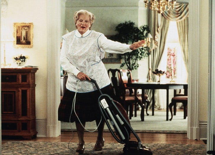 mrs doubtfire robin williams tip your nanny LIST