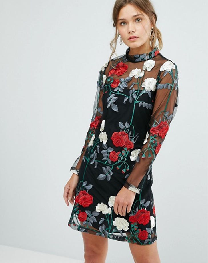 new look asos holiday dresses