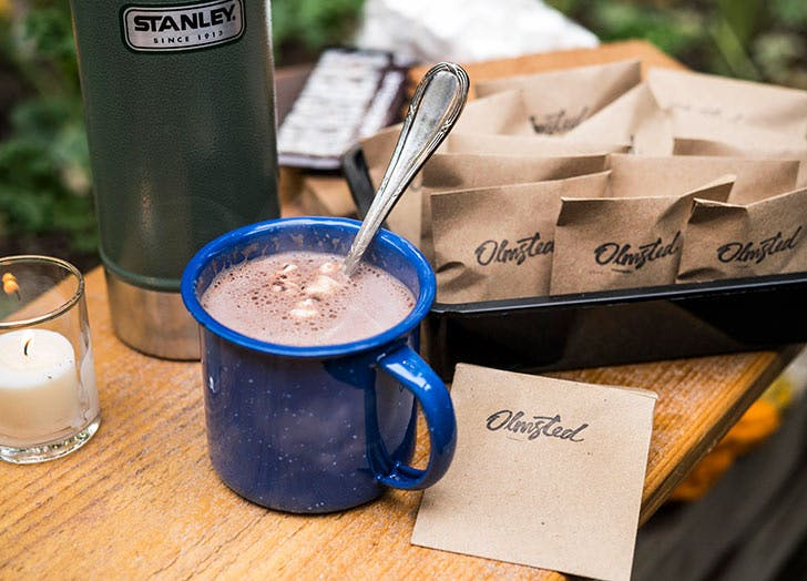 olmsted hot chocolate NY