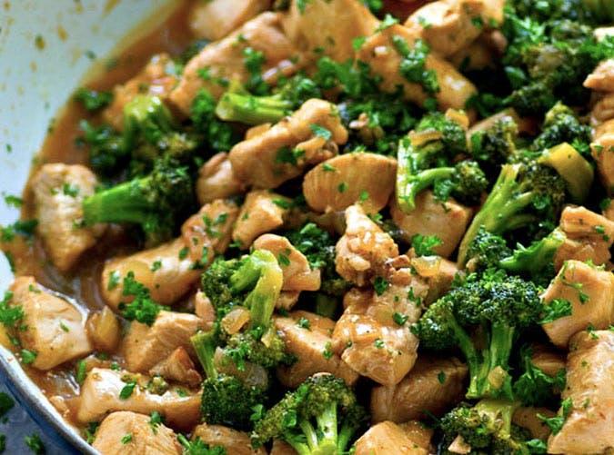 one pot citrus chicken broccoli stir fry 501