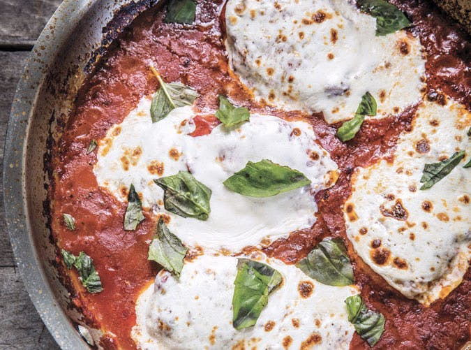 one pot extra fast chicken parm 501