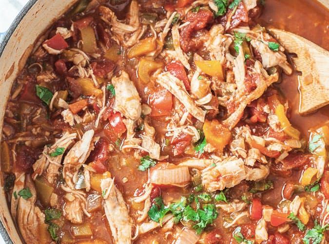 one pot healthy chicken chili 501
