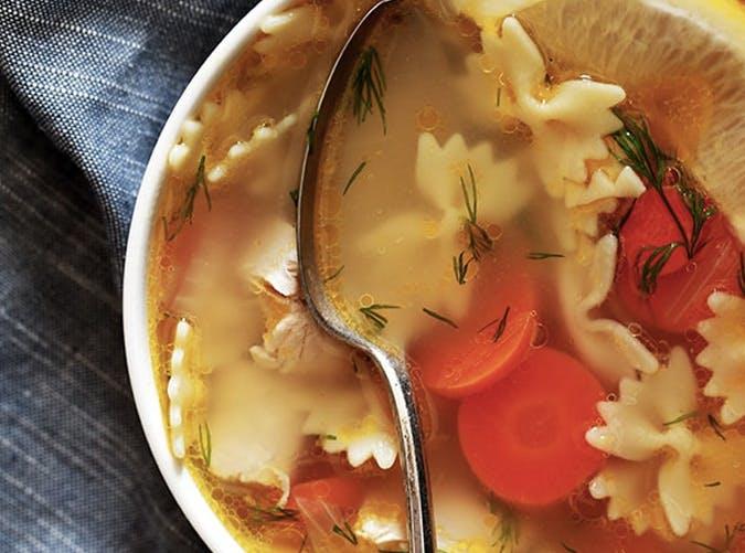 one pot lemon dill chicken noodle soup 501
