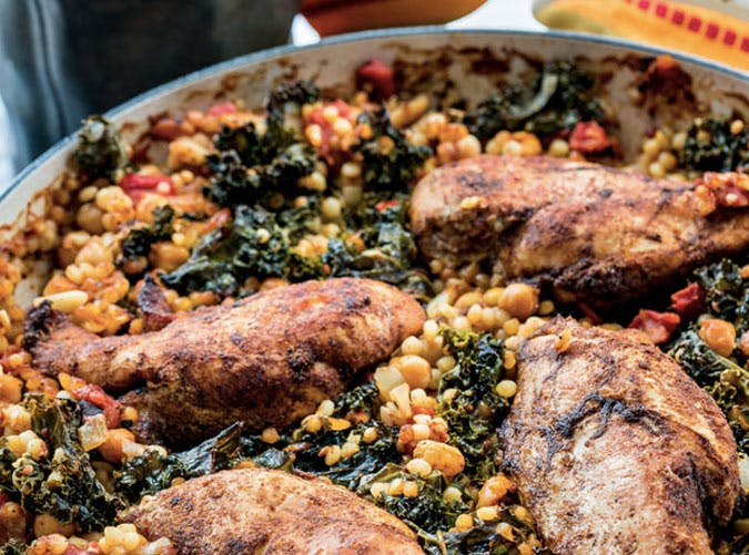 one pot moroccan chicken couscous 501