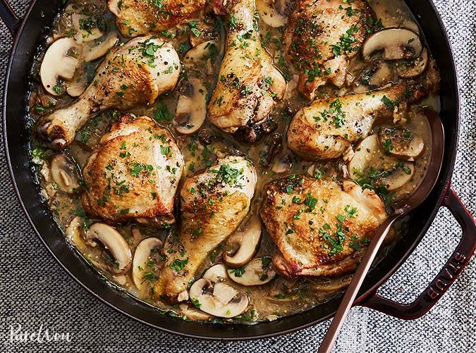 one pot white wine coq au vin chicken 501